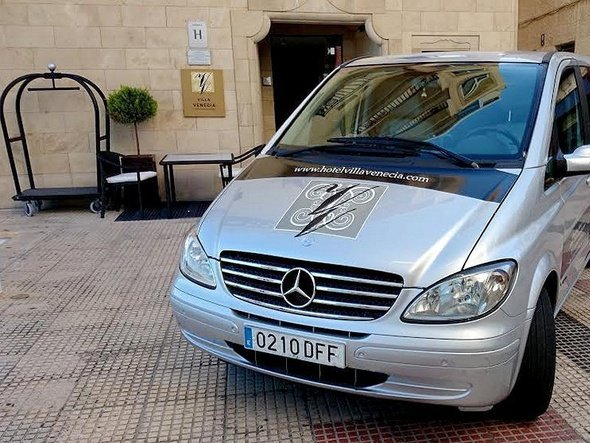 Valet parking villa venecia boutique hotel benidorm