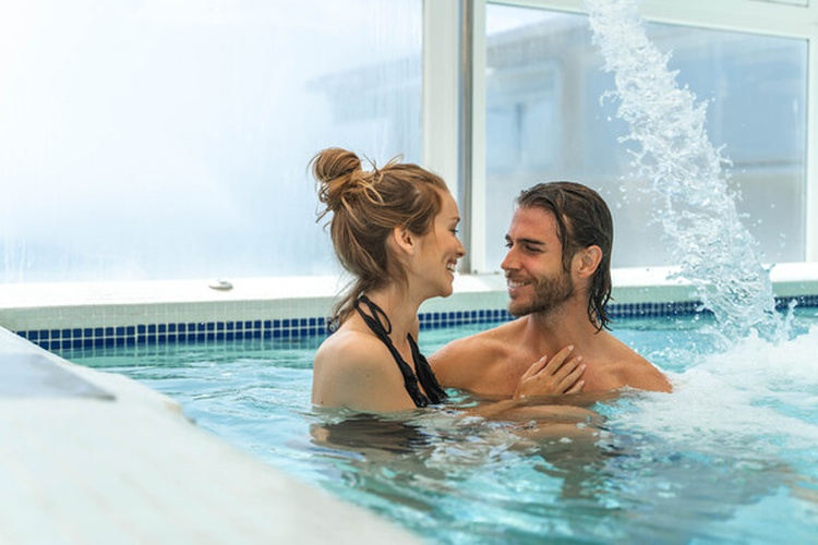 Indoor swimming pool villa venecia boutique hotel benidorm