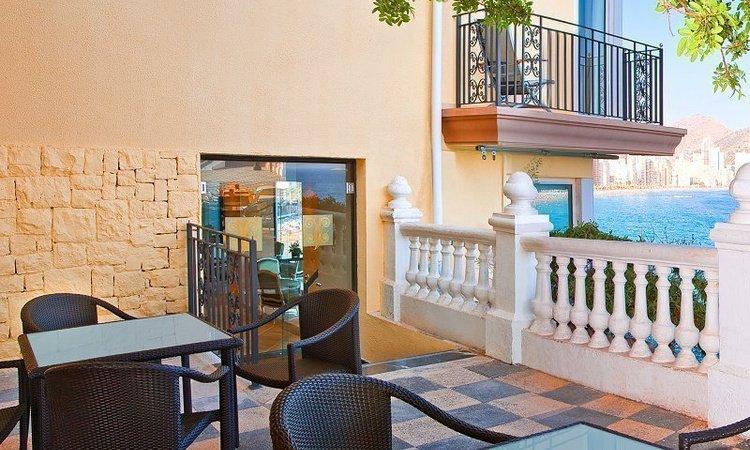 Terrace 'Gourmet' Villa Venecia Boutique Hotel Benidorm