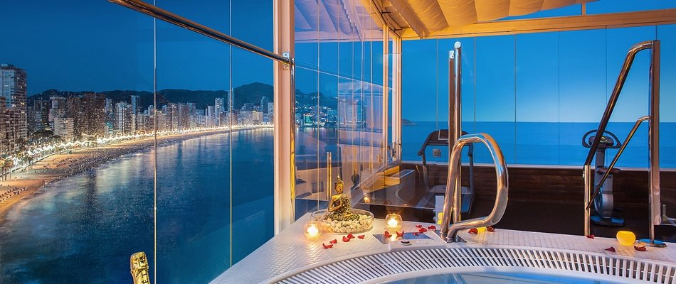Night Private Spa Villa Venecia Boutique Hotel Benidorm