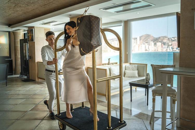 Reception villa venecia boutique hotel benidorm