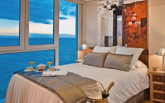 Supreme double single use 'sea view' villa venecia boutique hotel benidorm